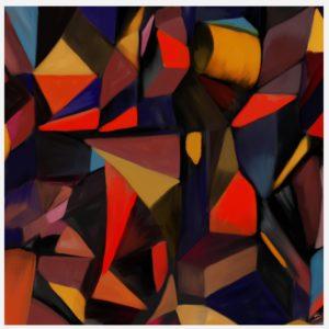 CitySpace abstract framed wall art