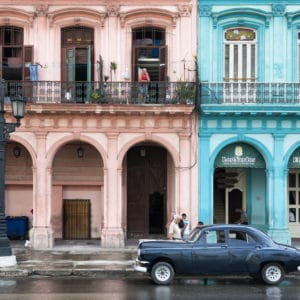 Havana Architecture landscape photography canvas and framed wall art