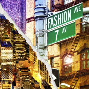 Fashion Avenue landscape photography canvas and framed wall art