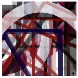 Enduring Light abstract framed wall art