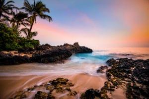 Hawaiian Paradise landscape photography canvas and framed wall art