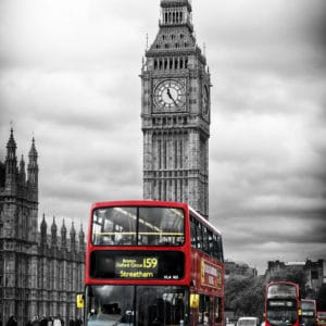 London Big Ben landscape photography canvas and framed wall art