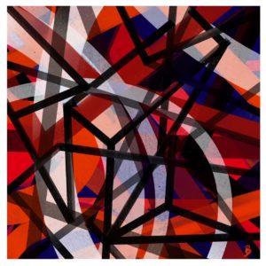 Memory of Light abstract framed wall art