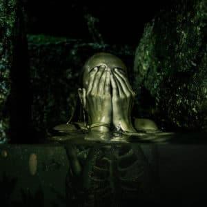 Radioactive water surreal digital wall art prints