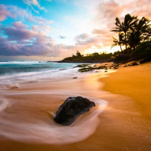 Sunrise Bliss landscape photography canvas and framed wall art