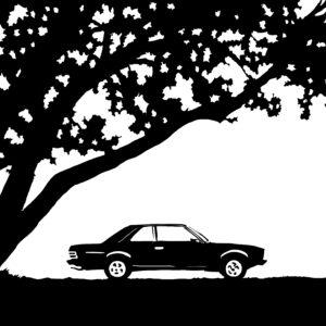 the wait digital comic illustration wall art canvas framed prints