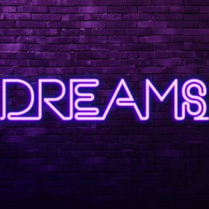 Urban Neon Dreams landscape photography canvas and framed wall art