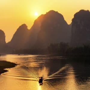 Yangshuo landscape photography canvas and framed wall art
