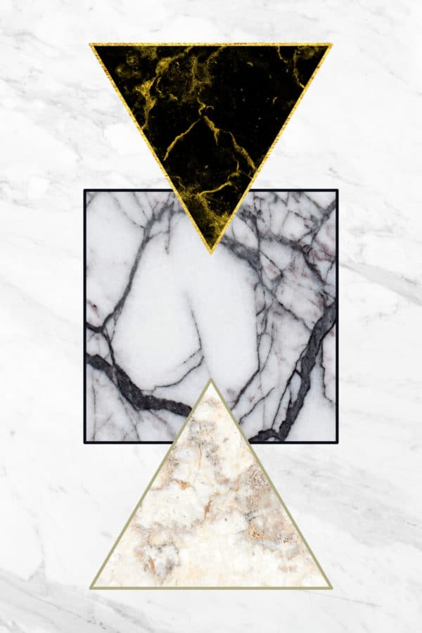marble shapes abstract framed wall art canvas prints