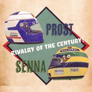 prost vs senna digital canvas artwork prints