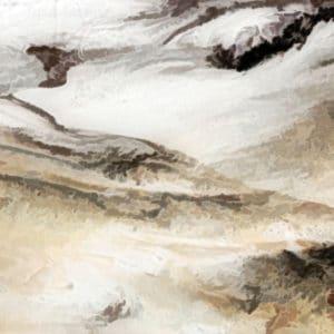 shifting dunes abstract framed wall art canvas prints