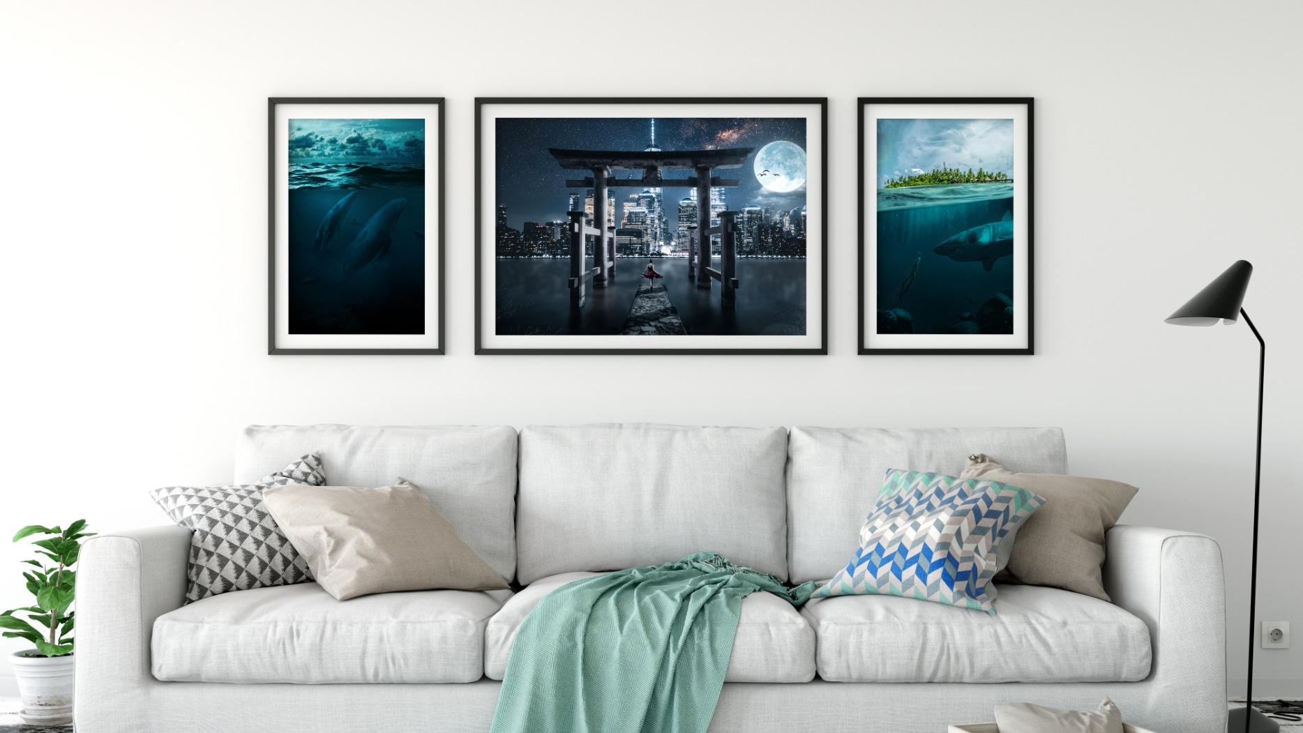 surreal digital wall art prints