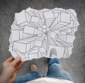 Pencil vs Camera - Number 32 unique artwork sketches