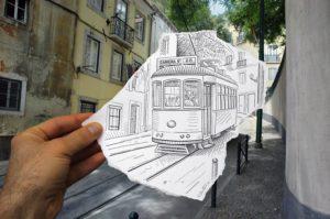 Pencil vs Camera - Number 4 unique artwork sketches