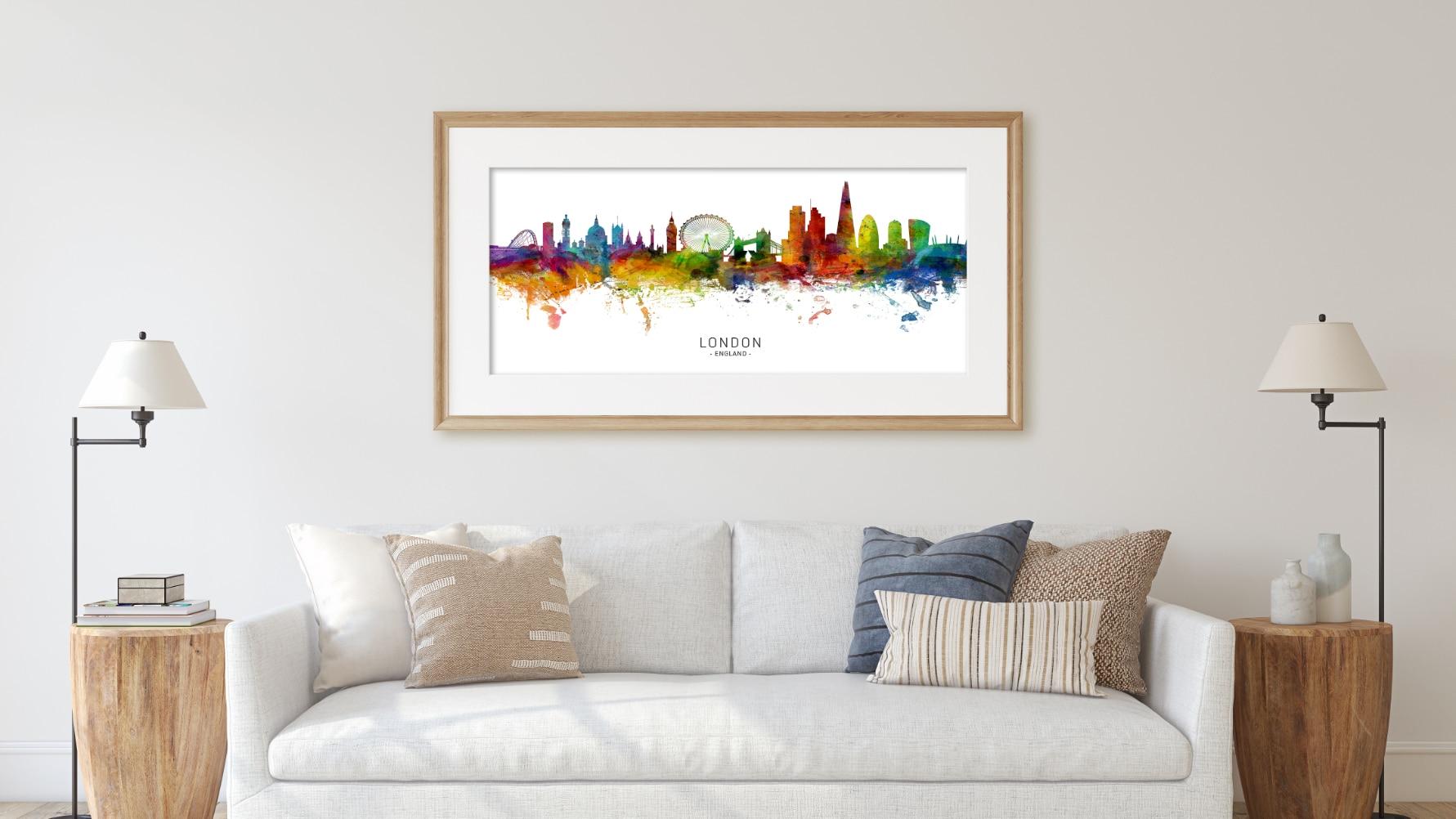 unique digital wall art canvas framed prints